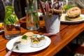 Grilovaný hermelín | Grilování Praha | Restaurace Bobová dráha