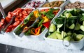 Fresh salads | Dinig room Ecko Prague